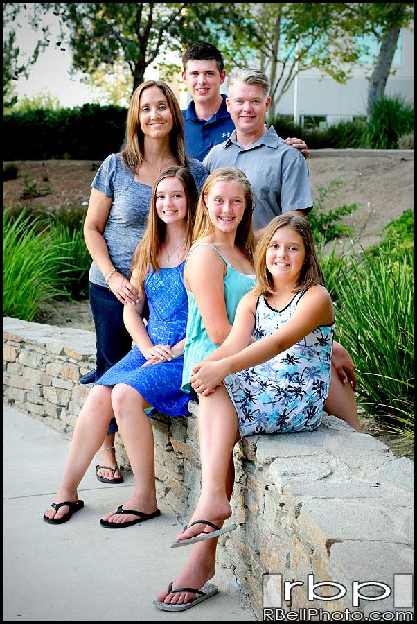 Riverside family portrait photography